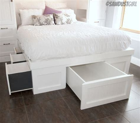 storage beds for diy storage bed projects the budget decorator