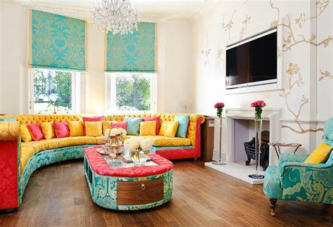 colorful living rooms  crave