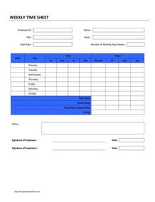 Timesheet Template by Timesheet Template Playbestonlinegames