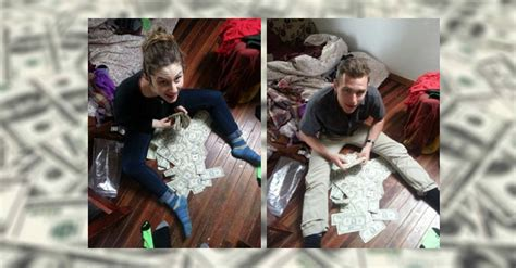 money in couch college roommates find 40 000 in thrift shop couch big