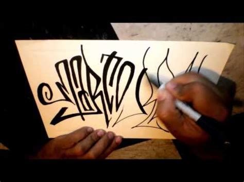 graffiti marco how to to tag marco real in graffiti letters youtube