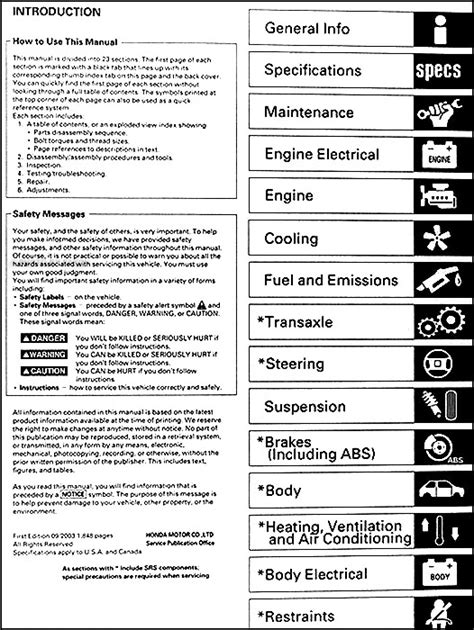 free auto repair manuals 1997 honda civic auto manual service manual free repair manual for a 2003 honda civic gx service manual 2003 honda civic