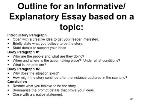 Writing An Explanatory Essay by Explanatory Essay Rabbithole