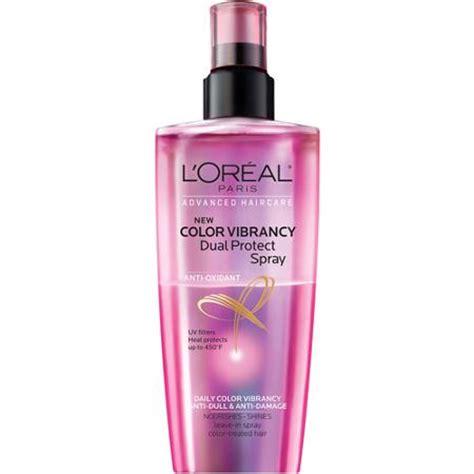 l oreal oxidant l oreal anti oxidant color vibrancy dual protect spray 5 1 fl oz walmart