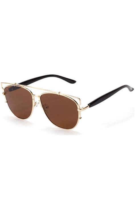 Sunglasses R Aviator Brown Gradasi brown tinted lenses aviator sunglasses womens sunglasses womens eyewear sunglasses eye wear