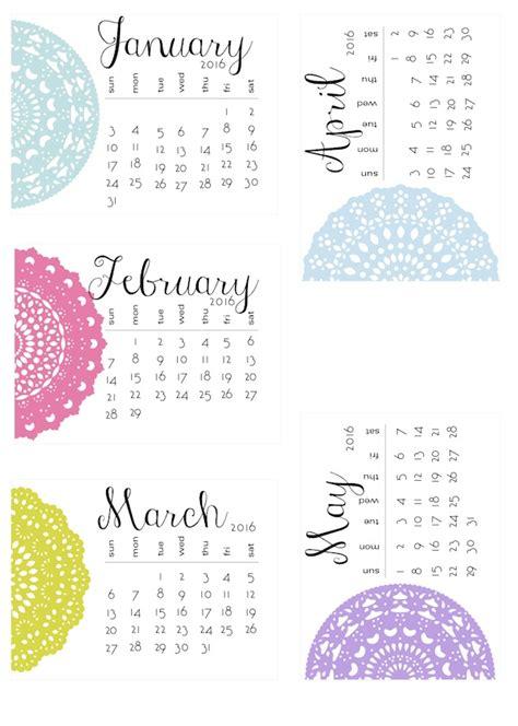 Missie B S Calendar A Dozen 2016 Free Printable Calendars The Cottage Market