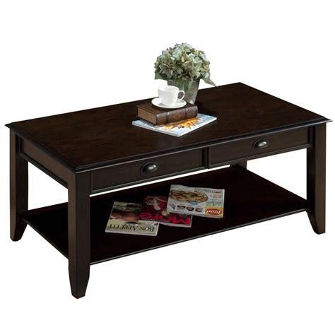 Jofran Coffee Table Jofran Coffee Table In Bartley Oak Finish 459 1