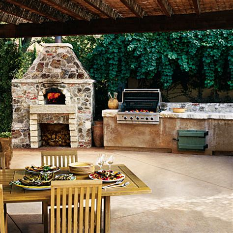 covered outdoor kitchen cost best 25 kitchen fireplaces ideas on pinterest covered