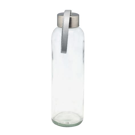 Glass Water Bottle glass water bottle with masflex