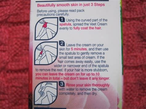 veet naturals hair removal review
