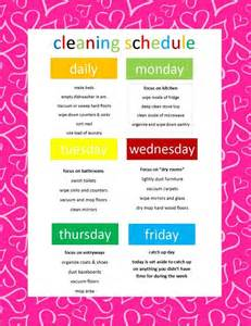 How To Keep A Clean House Schedule simple schedule for keeping your house clean green cleaning coach