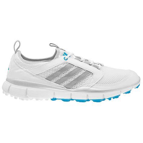 adidas adistar climacool golf shoes s white silver blue at intheholegolf