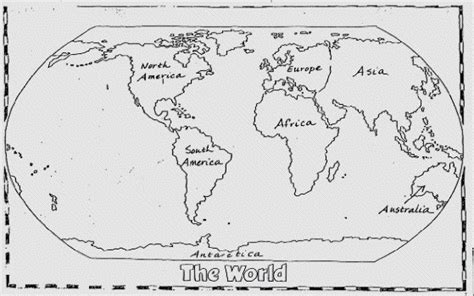 How To Draw A Map Of The World by Easy To Draw World Map Pictures To Pin On Pinterest