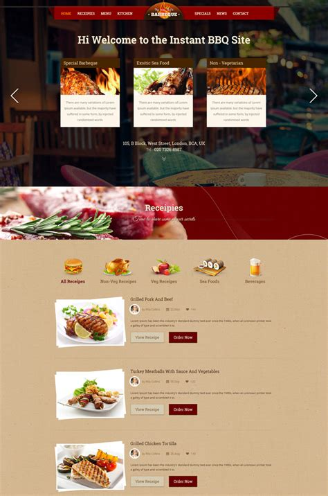 blogger templates for restaurant 10 entertainment cafe and restaurant website templates
