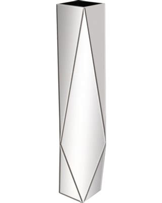 spring shopping deals on 45 quot tall mirrored contemporary art deco floor vase modern decor