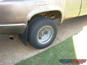 Chevy Truck Back Wheels Turn 1997 Chevrolet Silverado 3500 Rear Wheel Seal Picture