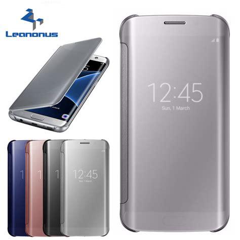 Flip Smart Mirror Samsung J7 J7002015autolock Cov Limited leanonus clear view samsung galaxy a520 a3 a5 2017 s8 a8 2018 s7 smart view