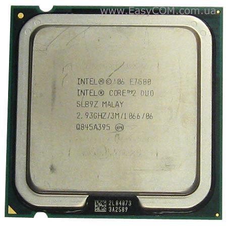 Processor E7500 intel 2 duo e7500 1 gecid
