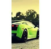 Green Cars Smoke Lamborghini Roads Vehicles Gallardo Wallpaper