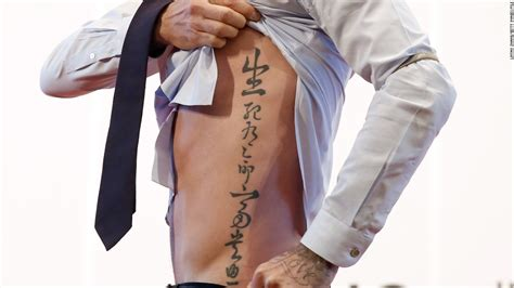 Tattoo Beckham Side | david beckham turns 40 why booze and gambling cnn com