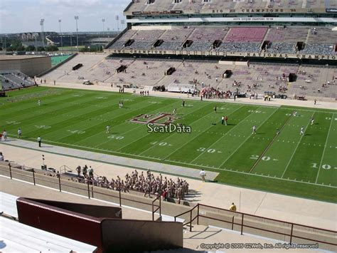 kyle field student section seating kyle field section 231 rateyourseats com
