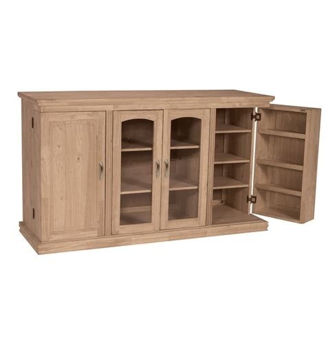 swing box tv 62 inch tv console with swing out doors simply woods