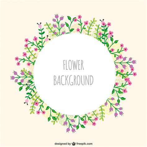 cornici illustrator cornice fiori vettoriale scaricare vettori gratis
