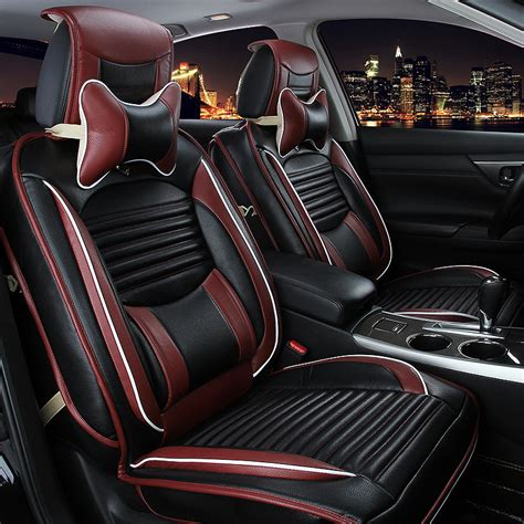 luxury car seats covers luxury leather car seat covers universal auto seat cushion
