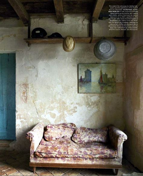Rustic Home Decor Magazines Rustic Country Living Room Cote Sud Home Decor Magazine From Country