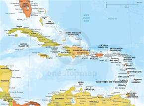 Maps Of Caribbean by Caribbean Map Related Keywords Amp Suggestions Caribbean