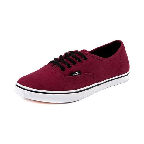 Vans Authentic Classic Maroon shop for vans authentic lo pro skate shoe in maroon at