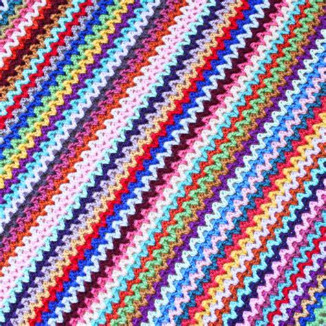 crochet pattern v stitch crochet v stitch blanket pattern knitting bee
