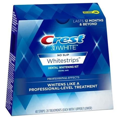 crest 3d white whitestrips with light crest 3d white whitestrips professional effects teeth