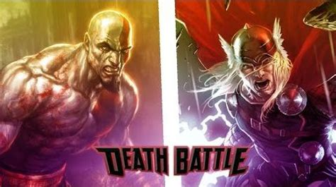 movie thor vs kratos video animacion kratos vs thor audicion death battle