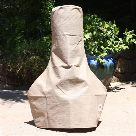 chiminea cover duck covers elite chiminea cover fire pit