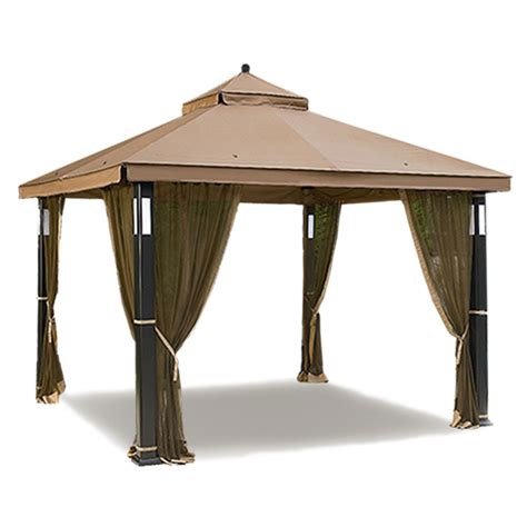 gazebo canopy replacement sears garden oasis lighted gazebo replacement canopy and