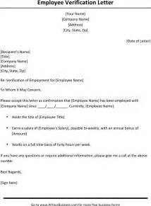 Proof Of Employment Letter Army Employment Verification Letter Template 1 For Free Tidyform