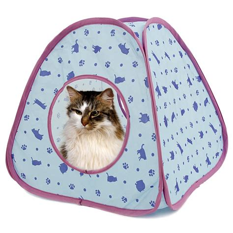 cat tent bed cat bed with sound cat tent pet bed for small and medium size animals very cute for