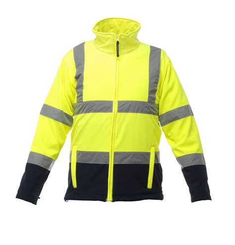 hi vis softshell cycling jacket regatta hi vis softshell jacket g s mahal co ltd