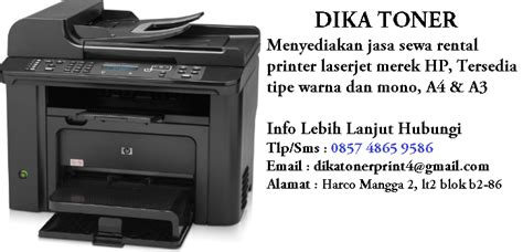 Printer Laserjet Murah daftar harga rental sewa printer murah hp laserjet color