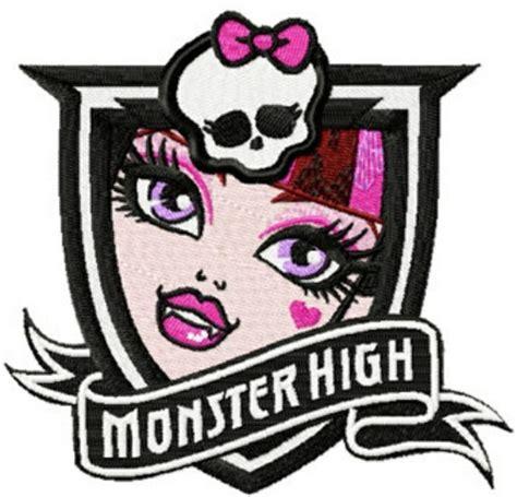 embroidery design monster high monster high logo photo of monster high draculaura logo