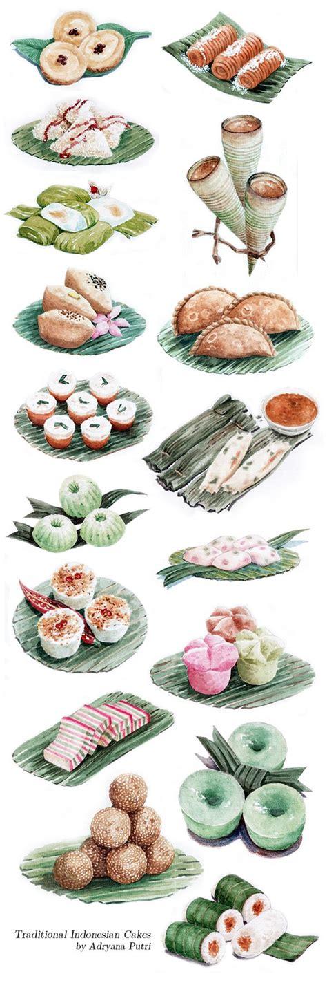 indonesian traditional cakes  sari sari