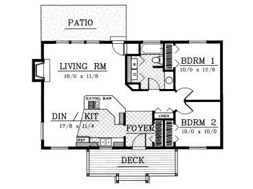 medcottage floor plan plan 026h 0010 find unique house plans home plans and