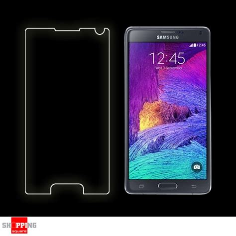 Tempered Glass Samsung Tab 4 Ukuran 7 Inc for samsung galaxy note 4 premium real tempered glass screen protector shopping