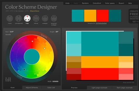 color schemes designer color scheme designer tool