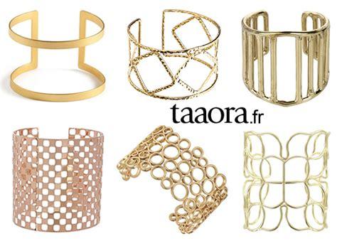Bijou tendance été 2014 : le bracelet manchette ajouré doré ? Taaora ? Blog Mode, Tendances, Looks