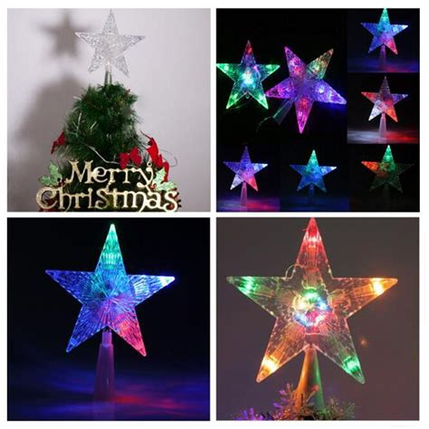 led christmas tree multi color changing topper best 28 color changing tree topper led multi color changing lights polar