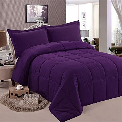 down comforter sets queen ntbay multi color down comforter queen purple bedding