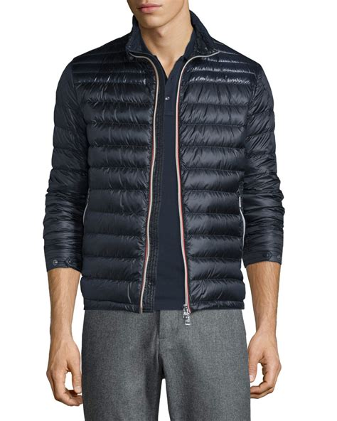 Moncler Quilted Puffer Jacket by Moncler Daniel Quilted Puffer Jacket In Blue For Lyst