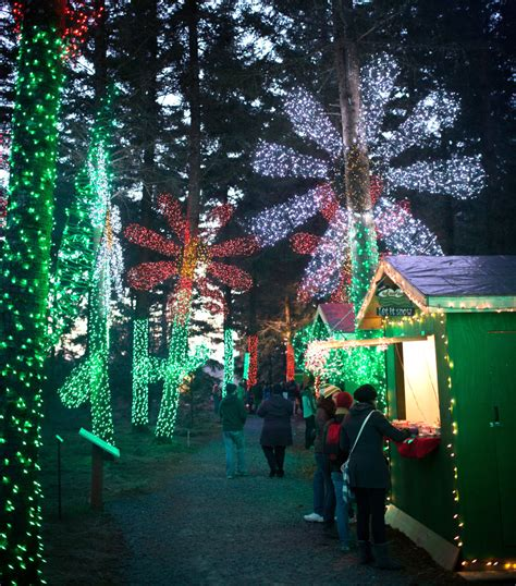 oregon garden lights here are the best 13 places in oregon to see